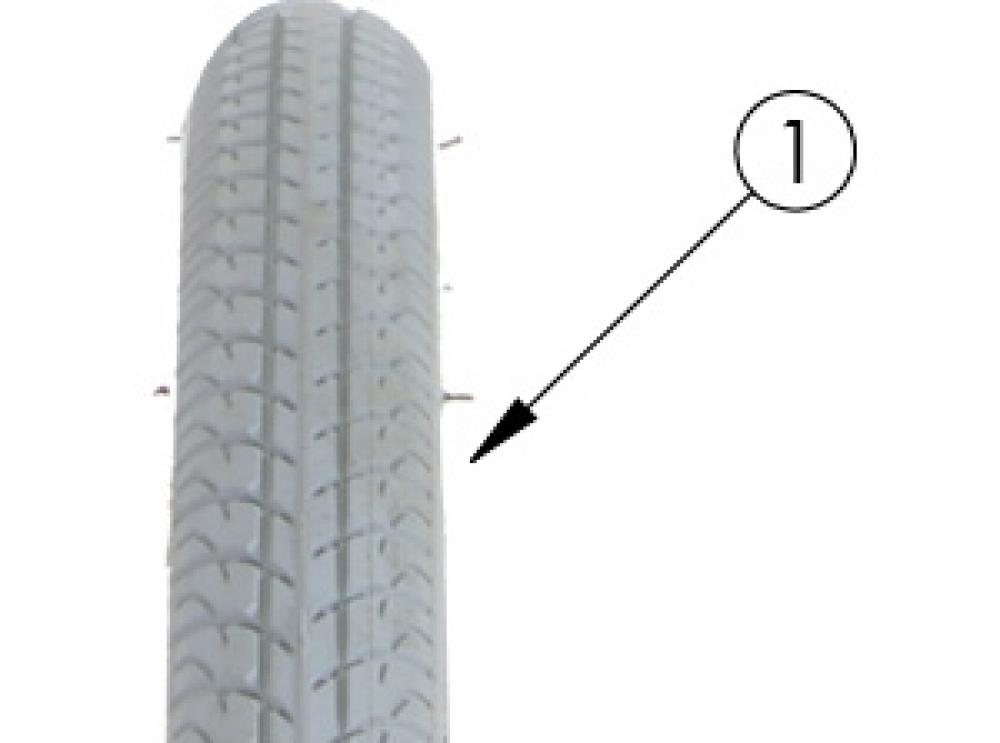 Iron Cap Tire parts diagram