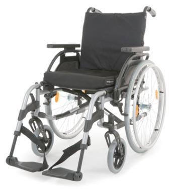 Breezy Elegance Silver Wheelchair