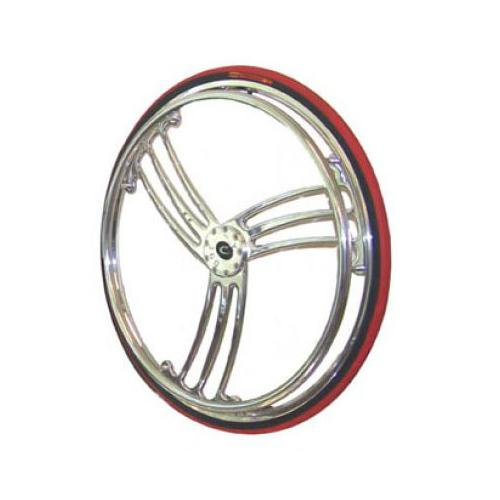 Colours Billet Wheels w/ Tires - T-Wheel Style