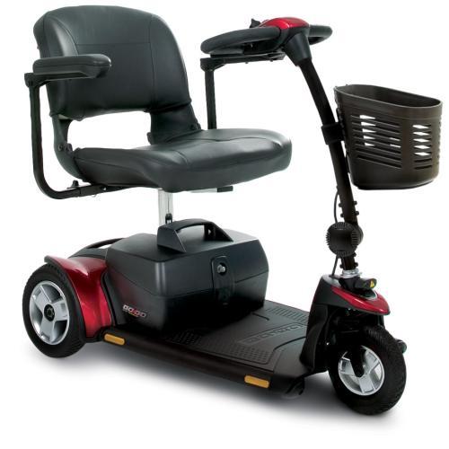 Pride Go-Go Elite Traveller 3-Wheel Mobility Scooter