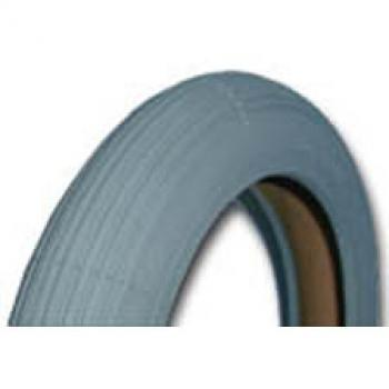 8 x 1 1/4 Pneumatic Tire, Light Gray