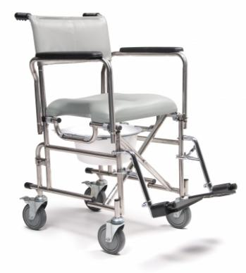 Everest & Jennings Rehab Shower Commode Chair - 5in Casters