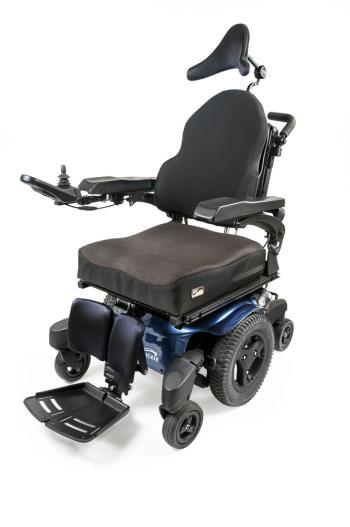 Quickie QM-715 HD Mid Wheel Drive Power Wheelchair