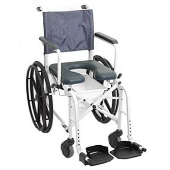 Mariner Rehab Shower Commode Chair w/ 24