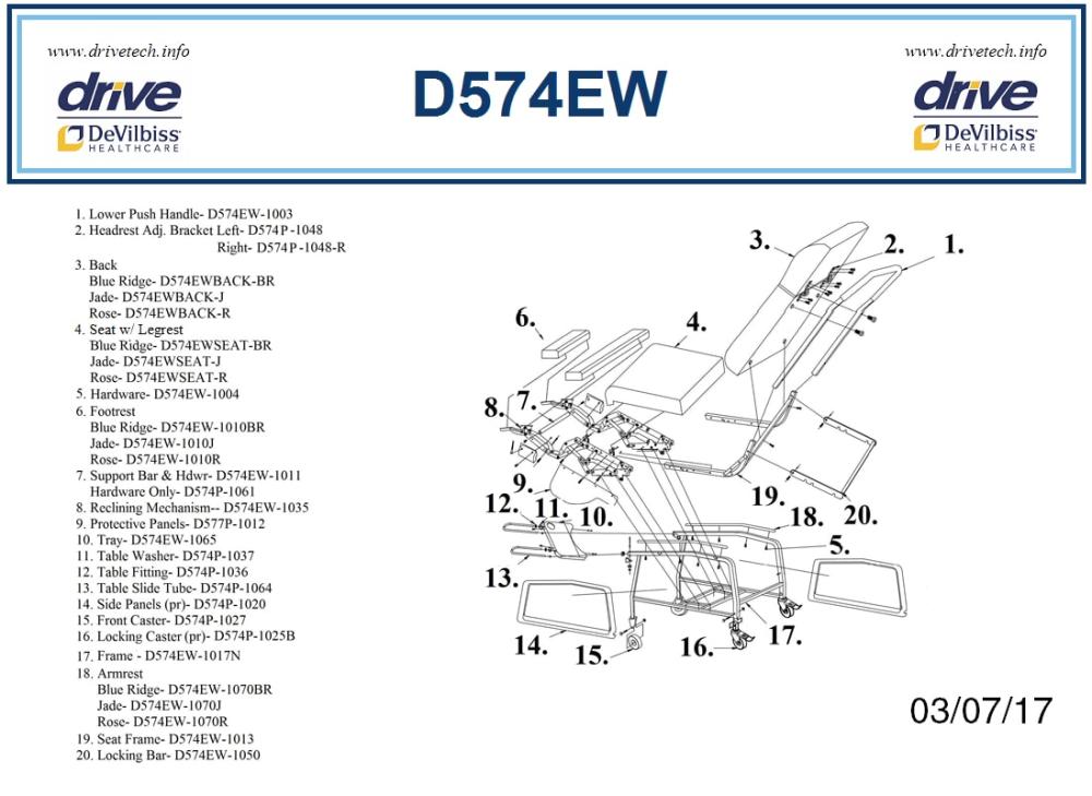 Parts parts diagram