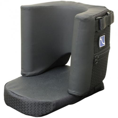 Comfort Foot Single Padded Footrest Positioner for Wheelchairs - Tall