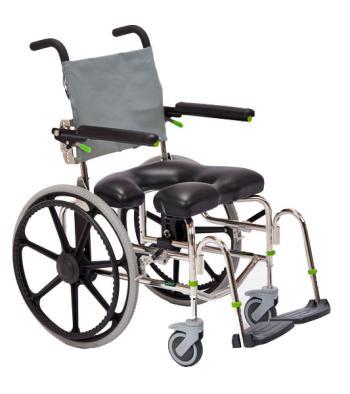 Raz Design RAZ-SP Self Propel Rehab Shower Commode Chair
