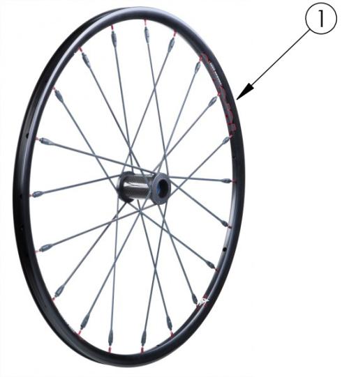 Discontinued Topolino Wheel parts diagram