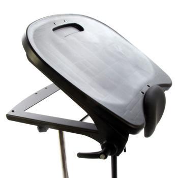 Black Molded Angle Adjustable Tray