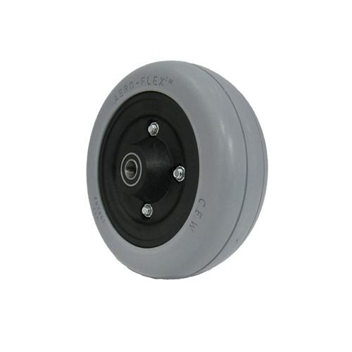 6 x 2in Rehab Caster Wheel Assembly