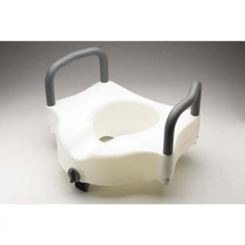 Guardian Locking Elevated Toilet Seat with Arms