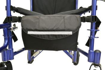 Down in Front Wheelchair Under Seat Pouch