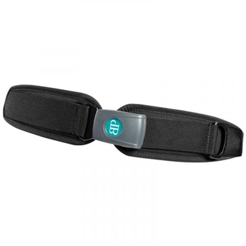 Padded Center Pull Two Point Hip Belt w/ Push Button