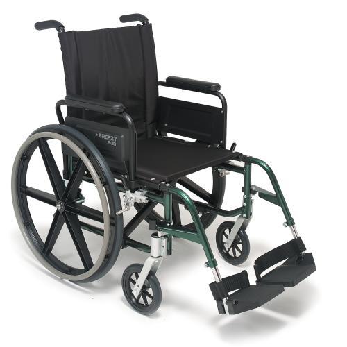 Quickie Breezy 600 Lightweight Wheelchair