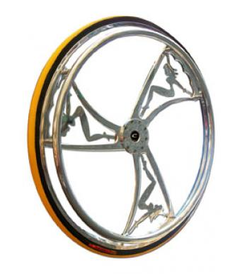 Colours Billet Wheels w/ Tires - Mod With Cherry