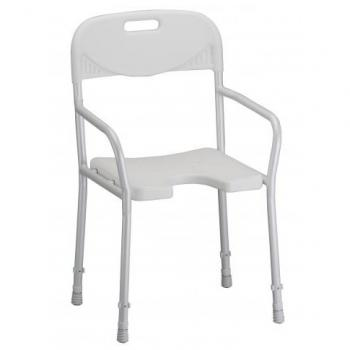 Hygienic Shower Chair With Arms & Back