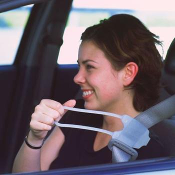 Easy Reach Seat Belt Handle
