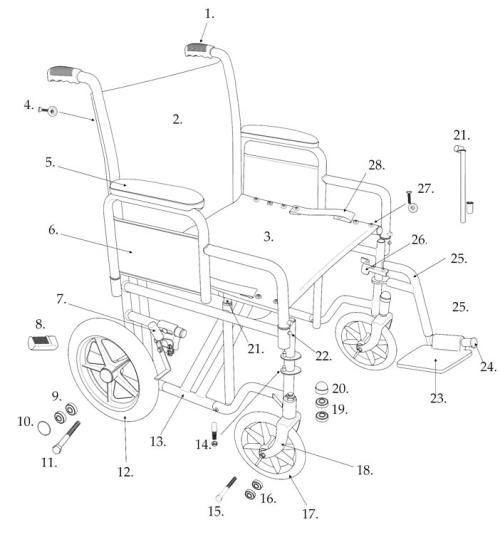 Parts For Btr-22 parts diagram