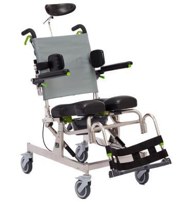 Raz Design RAZ-AT Tilt Rehab Shower Commode Chair