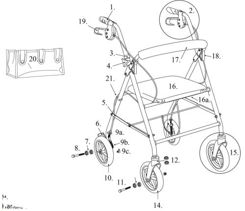 Parts For R728 parts diagram