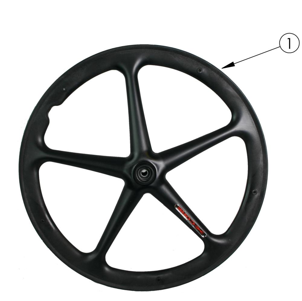 Focus Mag Wheel parts diagram
