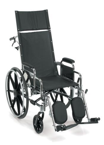 Breezy EC 4000 High Strength Lightweight Reclining Wheelchair