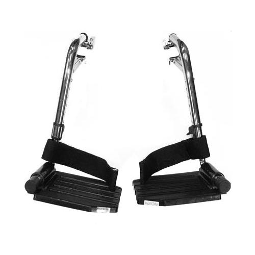 Invacare Footrest Assembly Hemi Pin Spacing, Pair