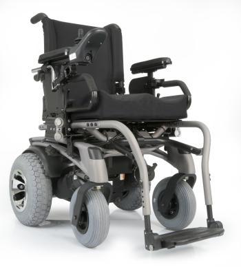 Quickie P-222 SE Rear Wheel Power Wheelchair