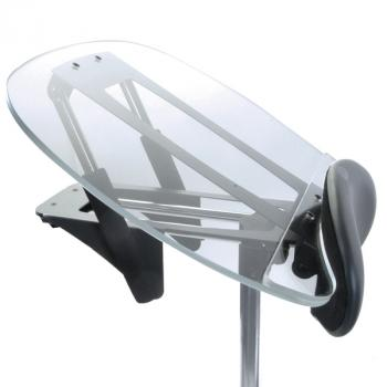 Clear Angle Adjustable Tray