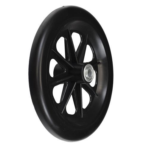 Invacare Caster Wheel 8 x 1 in., Black Hub