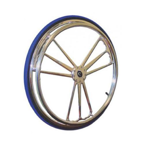 Colours Billet Wheels w/ Tires - Heart Style