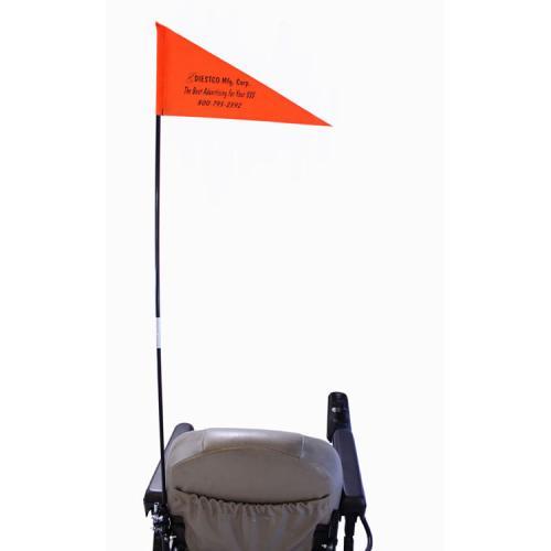Folding Safety Flag