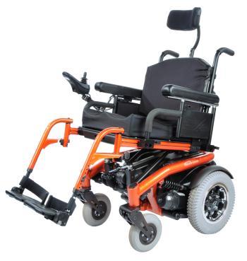 Quickie S-636 Rear Wheel Power Wheelchair
