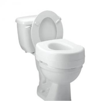 Carex Elevated Toilet Seat w/ Undergrips