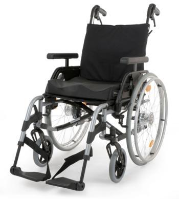 Breezy Elegance Gold Ultra Light Wheelchair