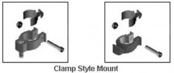 Jay Replacement Clamp Style Mounting Hardware