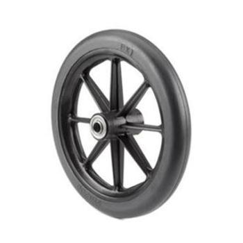 8 x 1 in. 8-Spoke Black Caster Wheel