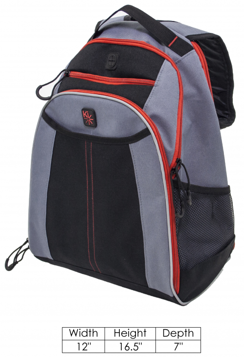 Ki Mobility Backpack parts diagram
