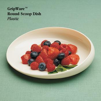 GripWare Round Scoop Dish