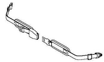 Aircraft Buckle Positioning Belt 2