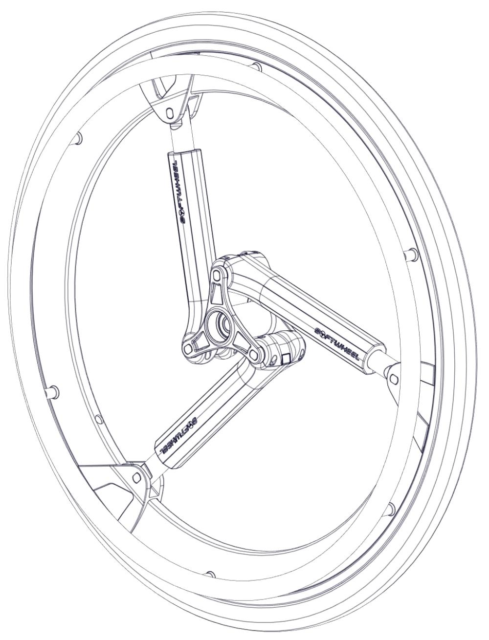 Softwheel / Tire / Handrim Kits parts diagram