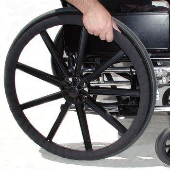 Wheel-Ease Wheelchair Rim Cover