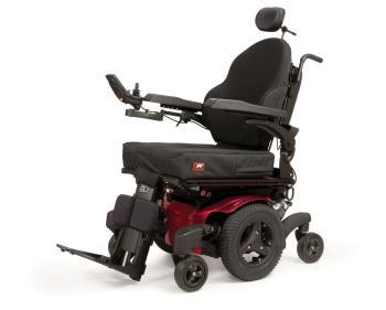 Quickie QM-710 Mid Wheel Drive Power Wheelchair