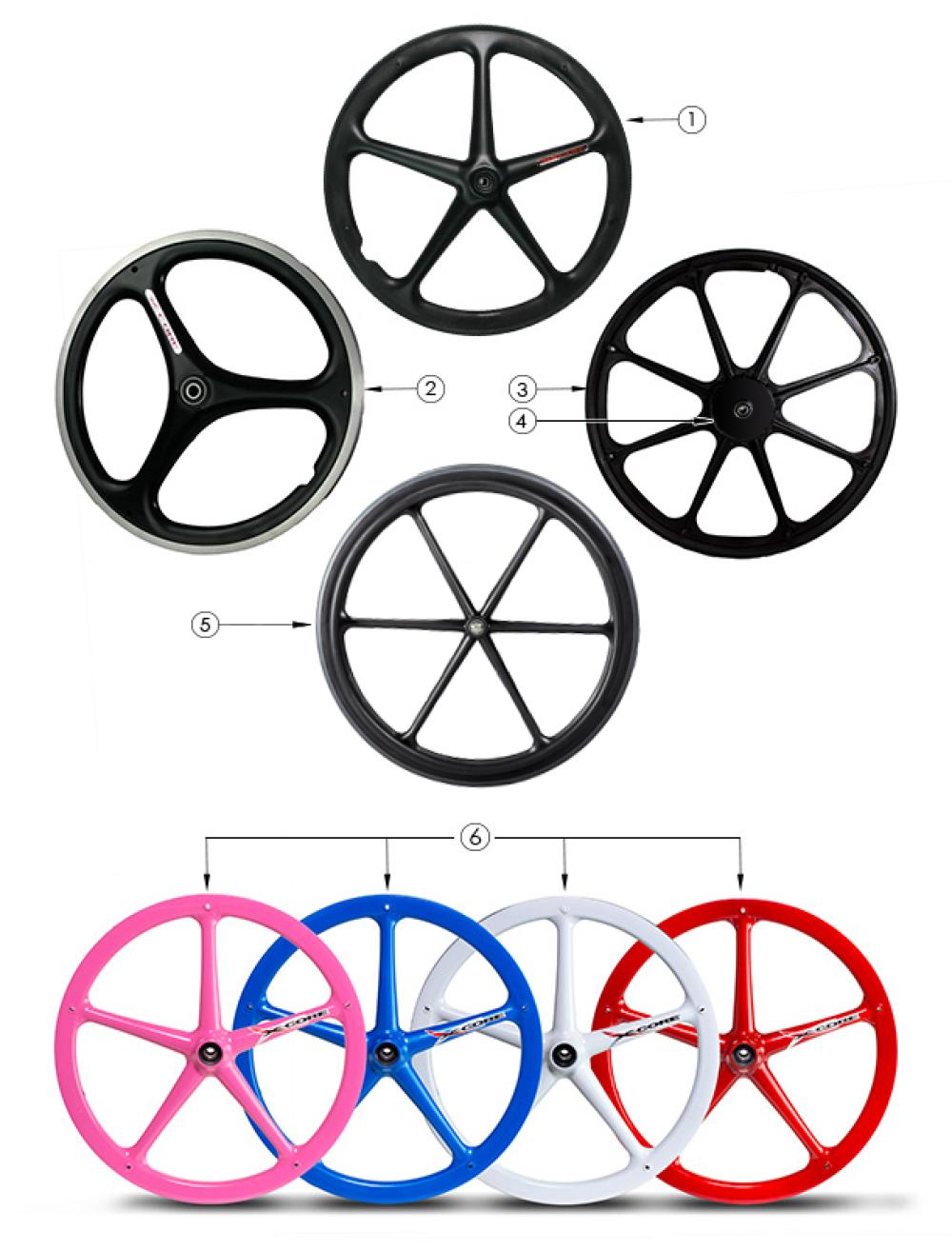 Rogue Xp Mag Wheel parts diagram