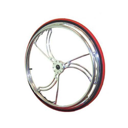 Colours Billet Wheels w/ Tires - Sawblade Style