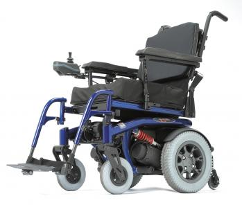 Quickie S-646 SE Rear Wheel Power Wheelchair