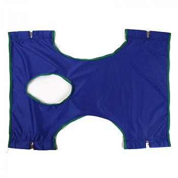 Invacare Standard Solid Polyester Sling with Commode Opening