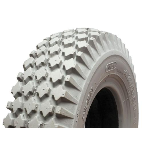 14X4 (400-6) Poly Foam Filled Tire, Knobby