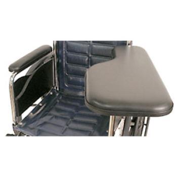 Padded Half Wheelchair Arm Tray w/ Swivel