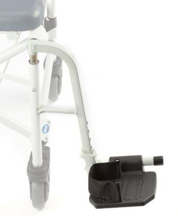 Mariner Replacement Footrest Assembly, White - Left